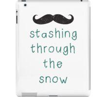 Stashing Through The Snow iPad Case/Skin