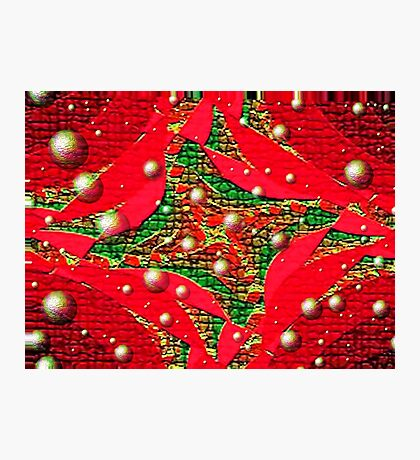 Red For Christmas Photographic Print