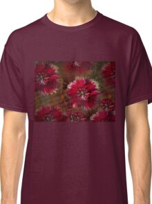 Burgundy flower design Classic T-Shirt