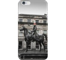 Glasgow, Duke of Wellington iPhone Case/Skin