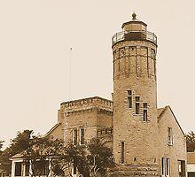 Old Mackinac Point Lighthouse by Erika Benoit