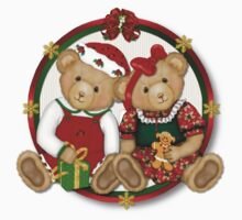 Berry Merry Christmas Bears by SpiceTree