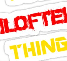 It's a FILOFTEIA thing, you wouldn't understand !! Sticker