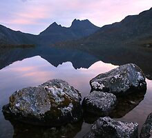 Dove Lake Dawn, Cradle Mountain, Tasmania by Michael Boniwell