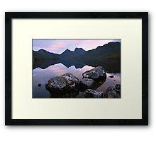 Dove Lake Dawn, Cradle Mountain, Tasmania Framed Print