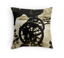 Free Lunch Throw Pillow