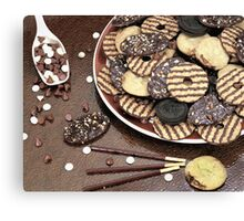 Chocolate delight  Canvas Print