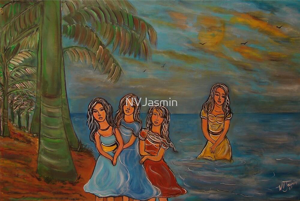 under the tropical breeze by NVJasmin
