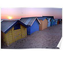 Brighton Beach Boxes, Australia Poster