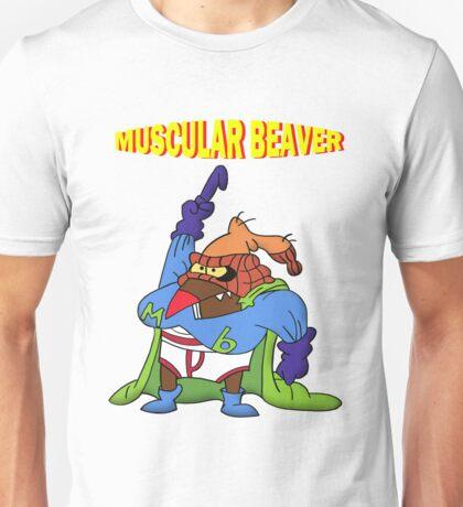 Muscular Beaver Unisex T-Shirt