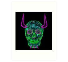 skull of unkindness  Art Print