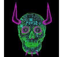 skull of unkindness  Photographic Print