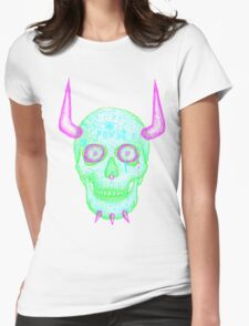 skull of unkindness  Womens Fitted T-Shirt