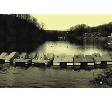 The lake from my home town of Jenkins, KY Photographic Print