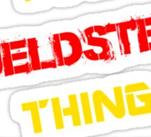 It's a FJELDSTED thing, you wouldn't understand !! Sticker