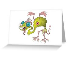 Skuzzy Dragon Greeting Card
