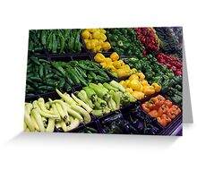 Peppers Aplenty Greeting Card