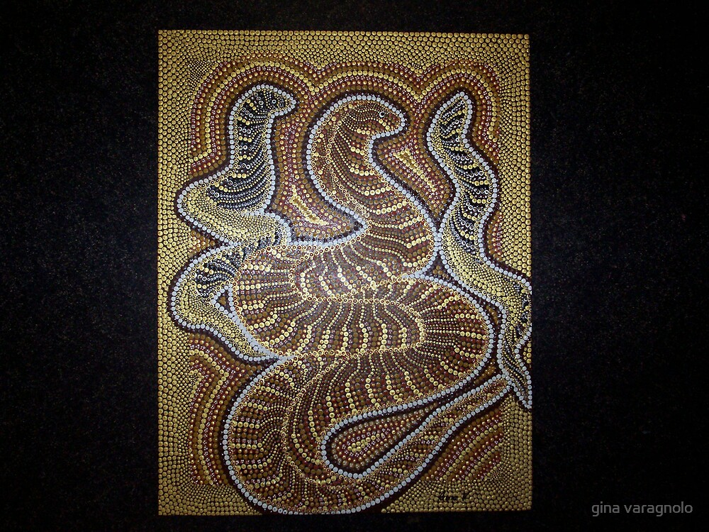 snakes by gina varagnolo