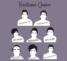 Youtube Crew Kids Clothes