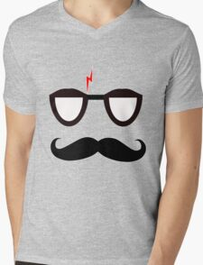 Hipster Harry Potter Mens V-Neck T-Shirt