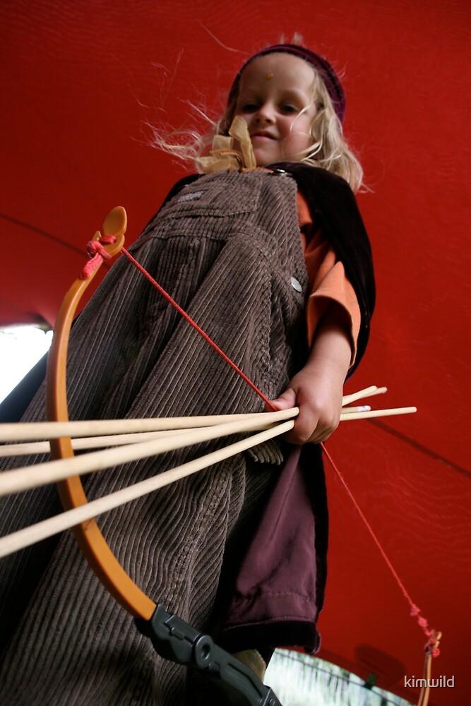 The Little Warrior by kimwild