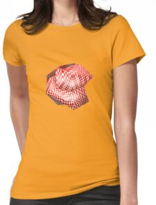 Abstract worm Womens Fitted T-Shirt