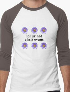 lol ur not Men's Baseball ¾ T-Shirt