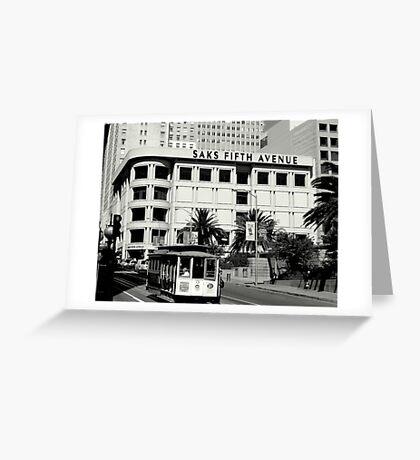 5th Avenue - San Francisco Greeting Card