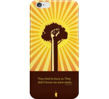 minimalist Mexican proverb iPhone Case/Skin