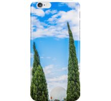 epcot and spaceship earth. iPhone Case/Skin