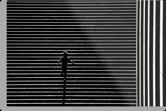 Paris - Life lines. by Jean-Luc Rollier
