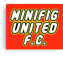 MINIFIG UNITED FC Canvas Print