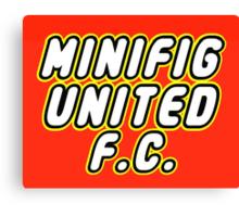 MINIFIG UNITED FC Canvas Print