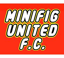 MINIFIG UNITED FC Photographic Print