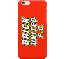 BRICK UNITED FC iPhone Case/Skin