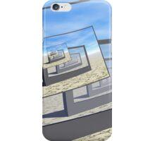 Surreal Monitors Infinite Loop iPhone Case/Skin