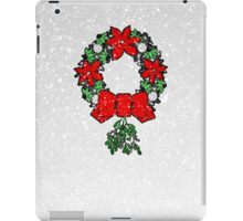 Tri Christmas Wreath iPad Case/Skin