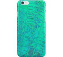 Green Feathery Leaves iPhone Case/Skin