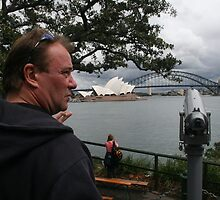 Martin,  at Mrs Macquarie's Chair, Sydney  by Ozcloggie