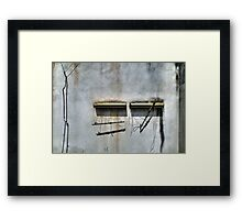 Better were the days in between... Framed Print