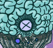 Kill All Brains (Alt Colors) Sticker