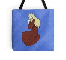 The Lady -with background- Tote Bag