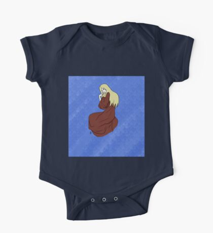 The Lady -with background- One Piece - Short Sleeve