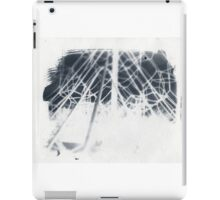 cyanotype web iPad Case/Skin