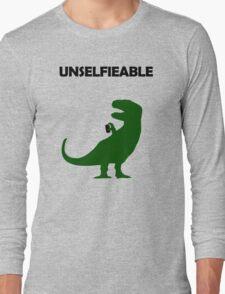 Unselfieable T-Rex Long Sleeve T-Shirt