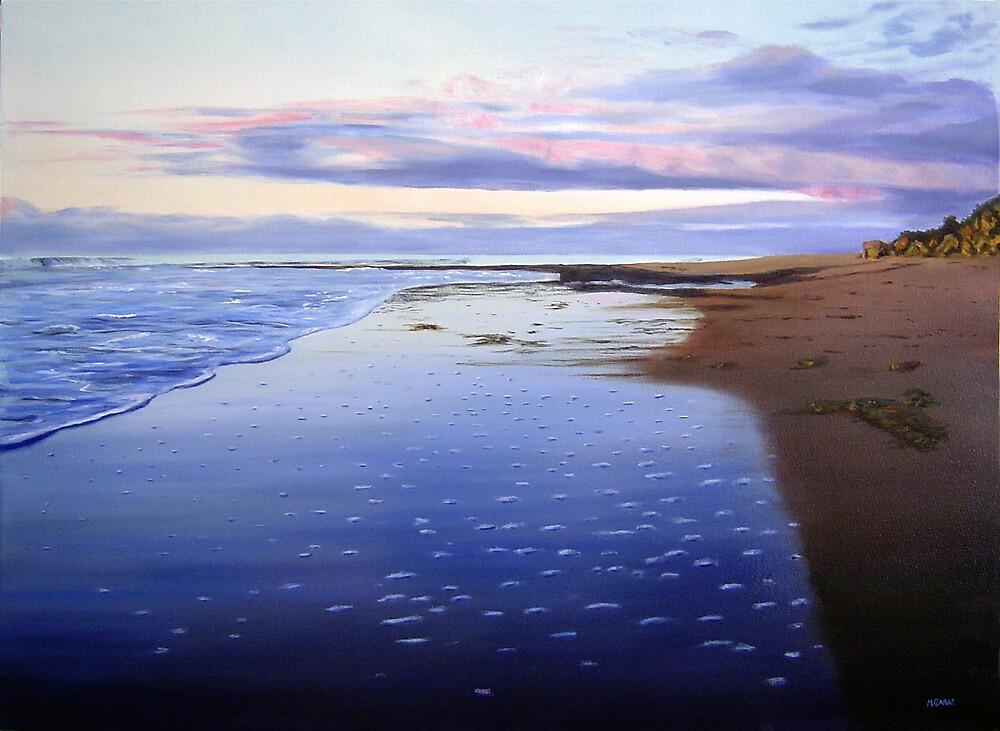 Sunset Shoreline by Martin Clarke