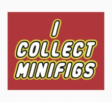 I COLLECT MINIFIGS  One Piece - Short Sleeve