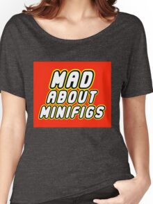MAD ABOUT MINIFIGS Women's Relaxed Fit T-Shirt