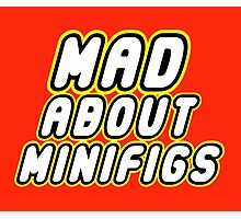 MAD ABOUT MINIFIGS Photographic Print