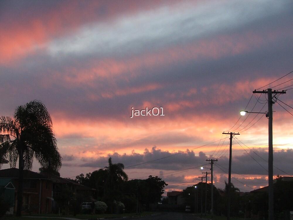 sunset storm  by jack01
